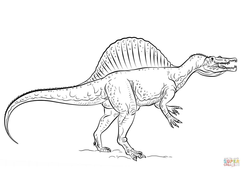 Jurassic Park Ausmalbilder Inspirierend Ausmalbilder Jurassic World Für Kinder Genial Spinosaurus Das Bild