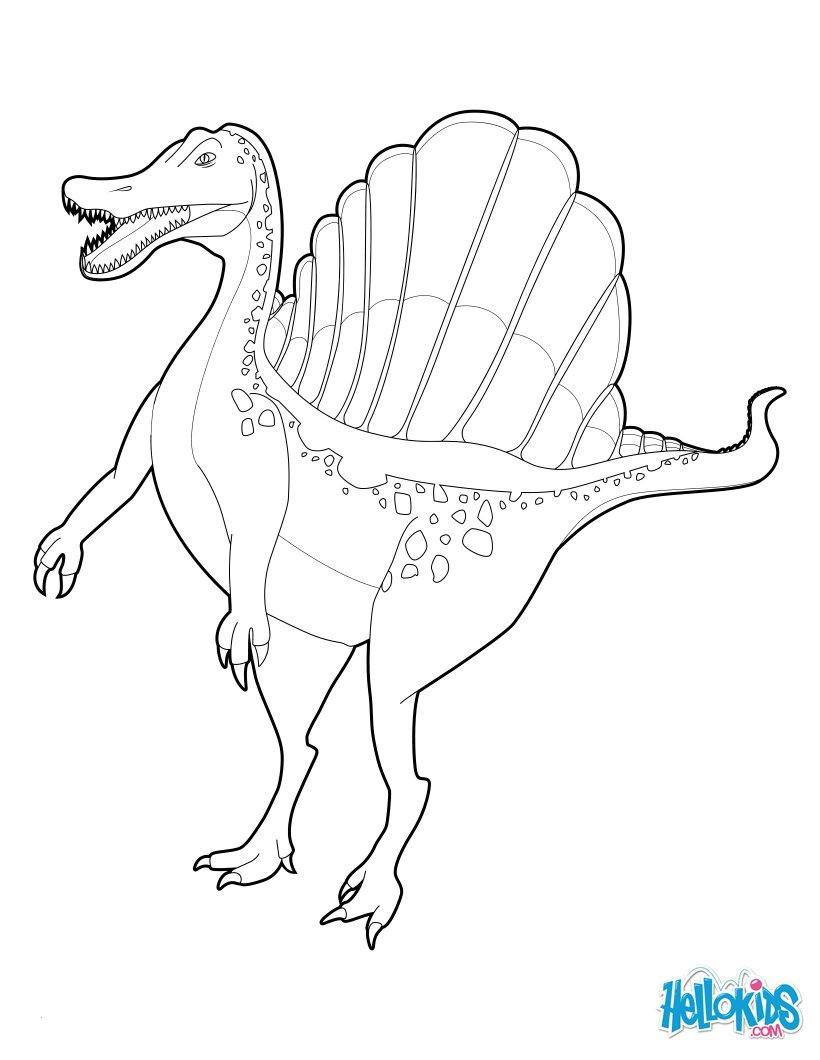 Jurassic Park Ausmalbilder Inspirierend Ausmalbilder Jurassic World Für Kinder Genial Spinosaurus Fotos