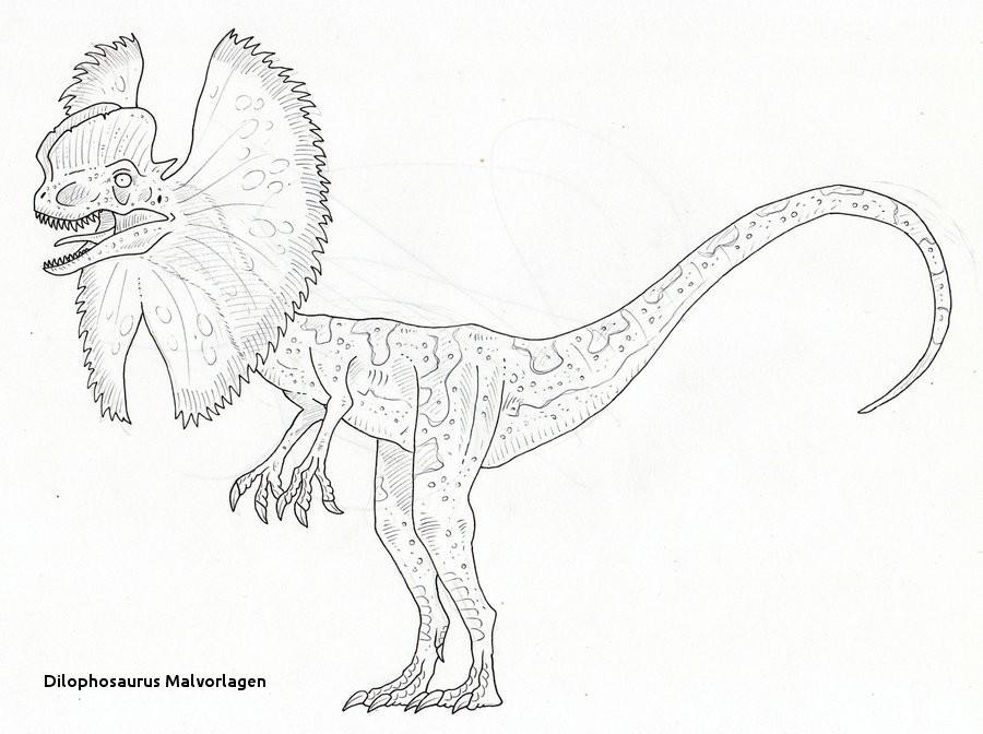 Jurassic Park Ausmalbilder Inspirierend Dilophosaurus Malvorlagen Galerie