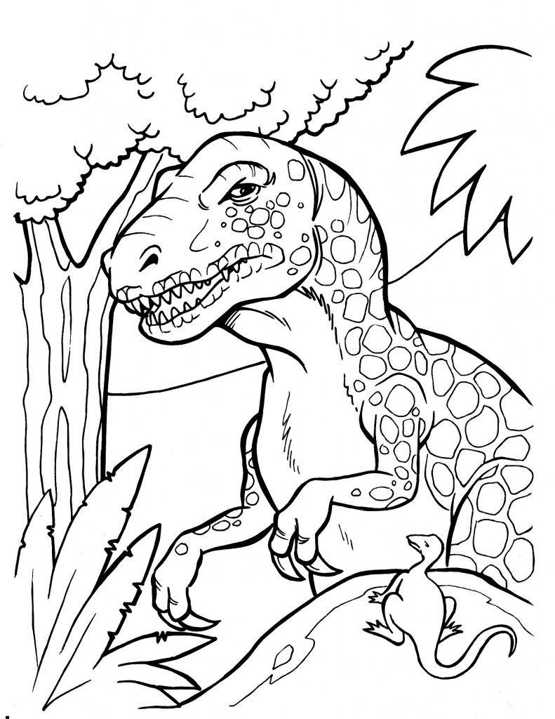 Jurassic World Ausmalbilder Einzigartig 40 Ausmalbilder Dinosaurier Rex Scoredatscore Elegant Jurassic Park Galerie