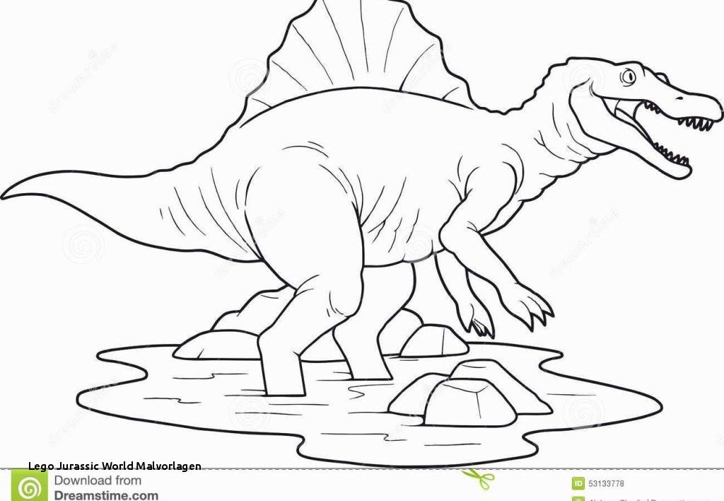 Jurassic World Ausmalbilder Einzigartig Lego Jurassic World Malvorlagen New Jurassic Park Spinosaurus Sammlung