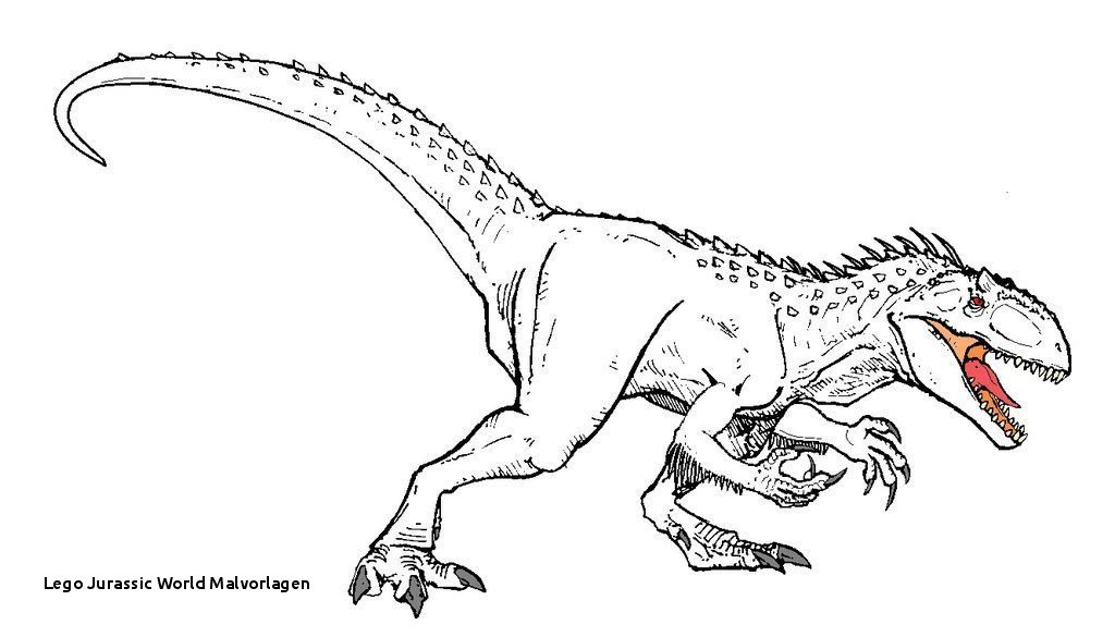 Jurassic World Ausmalbilder Inspirierend Lego Jurassic World Malvorlagen Ausmalbilder Indominus Rex Für Bilder