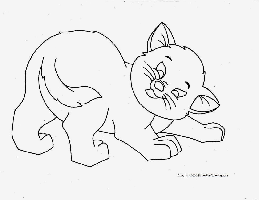 Spannende Coloring Bilder Katzen Malvorlagen Zum Drucken