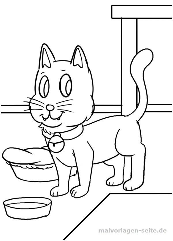 Katzen Bilder Zum Ausmalen Inspirierend Malvorlage Katze Katze Ausmalen 127 Malvorlage Katzen Ausmalbilder Fotos