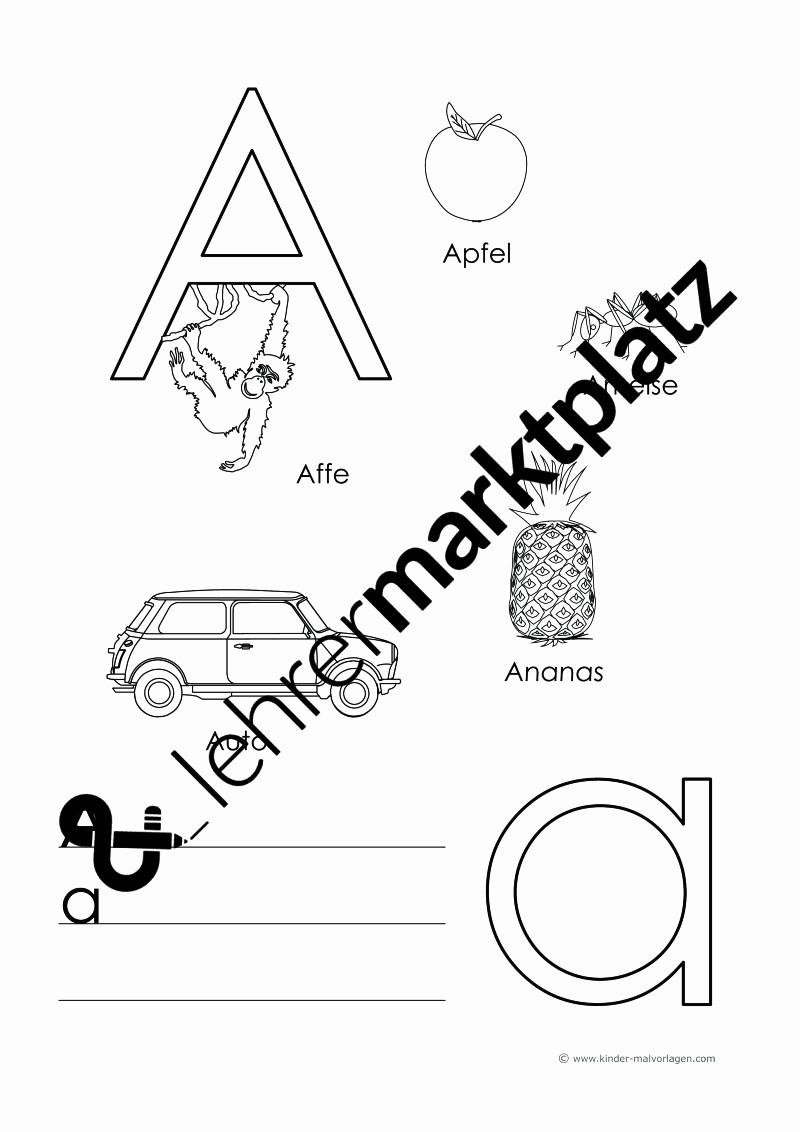Kinder Malvorlagen Com Neu Alphabet Schreiben Lernen Vorlage Beau Zahlen Lernen Zählen Stock