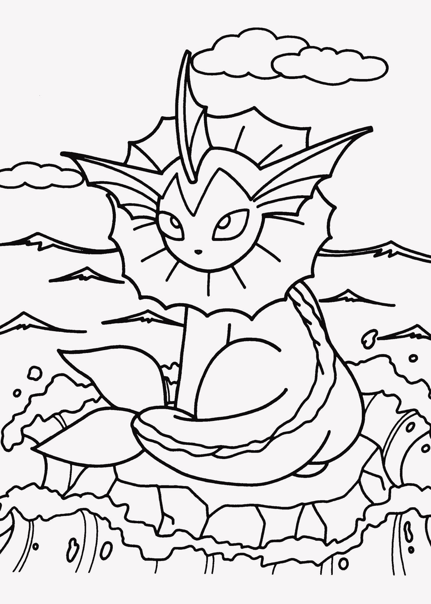 Kostenlose Ausmalbilder Pokemon Einzigartig 25 Fantastisch Ausmalbilder Pokemon Sammlung
