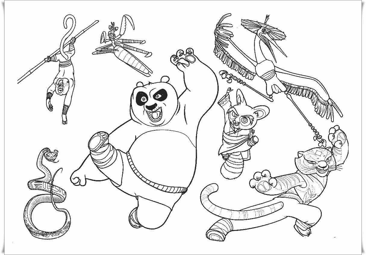 Kung Fu Panda Ausmalbilder Einzigartig 50 Frisch Kung Fu Panda Ausmalbilder Malvorlagen Sammlungen Stock