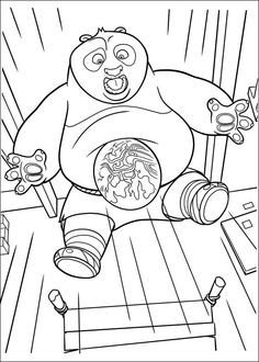 Kung Fu Panda Ausmalbilder Frisch 30 Best Kung Fu Panda Disegni Da Colorare Images Fotos