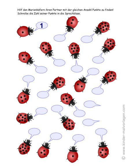 Ladybug Maske Zum Ausdrucken Einzigartig Zahlen Lernen Zählen übungsblätter Ausdrucken Sammlung