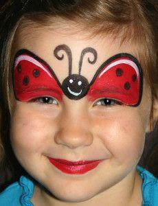 Ladybug Maske Zum Ausdrucken Inspirierend Marienkäfer Schminken Fertig Kids Pinterest Bilder