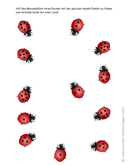Ladybug Maske Zum Ausdrucken Neu Zahlen Lernen Zählen übungsblätter Ausdrucken Das Bild