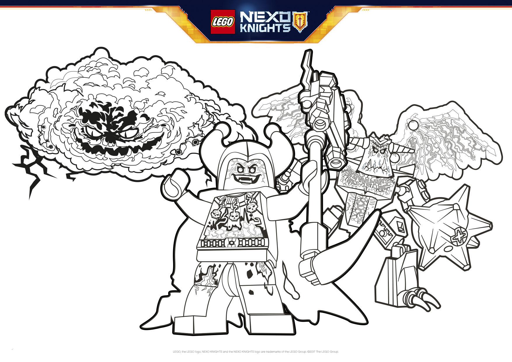 Lego Ausmalbilder Kostenlos Genial Lego Ausmalbilder Nexo Knights Frisch Nexo Knight Coloring Pages Sammlung
