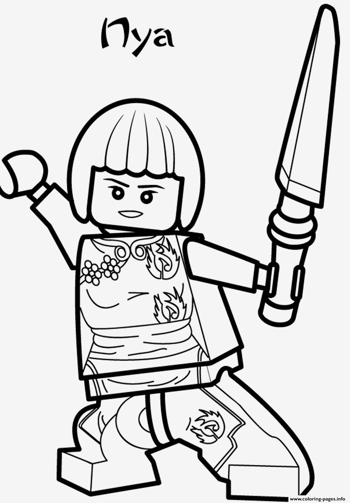 Lego Ninjago Bilder Zum Ausdrucken Genial Lego Ninjago Ausmalbild Bilder Zum Ausmalen Bekommen Ninjago Jay Fotos