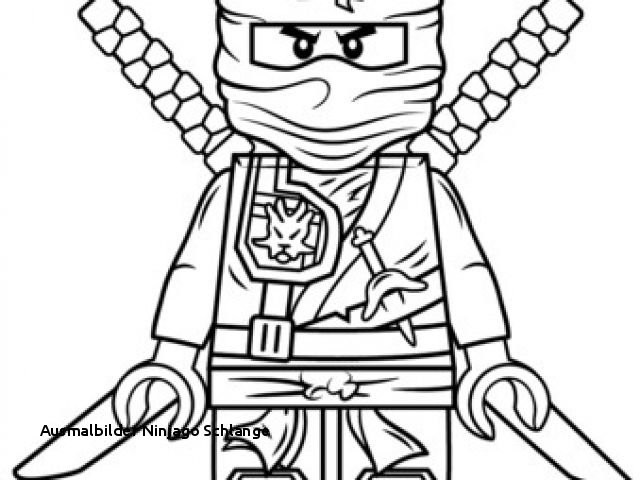 Lego Ninjago Malvorlage Inspirierend Ausmalbilder Ninjago Schlange