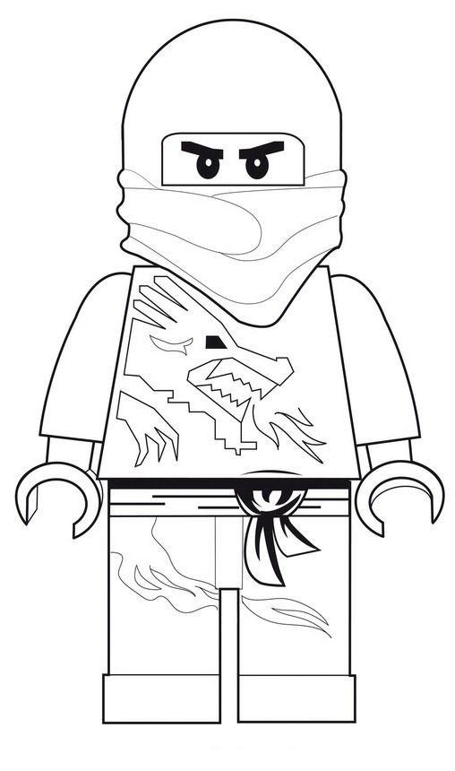 Lego Ninjago Zum Ausmalen Genial Kids N Fun Das Bild