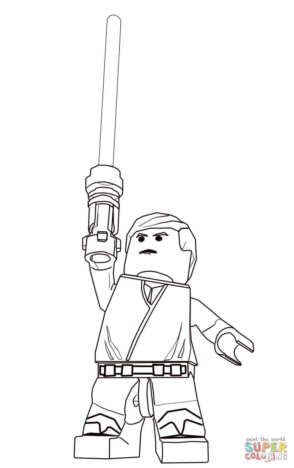 Lego Star Wars Ausmalbilder Das Beste Von Lego Star Wars Luke Skywalker Super Coloring Genial Lego Superman Galerie