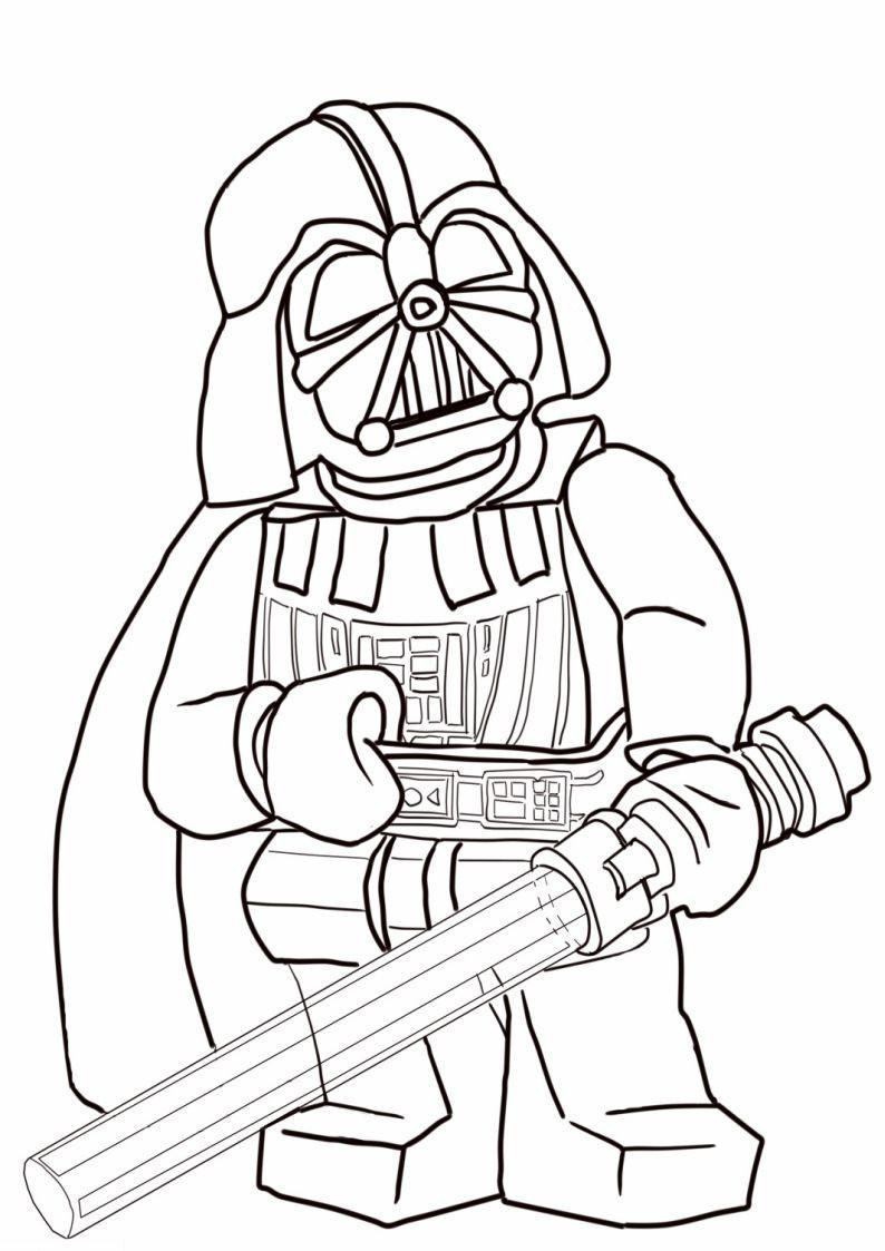 Lego Star Wars Malvorlagen Inspirierend Kolorowanka Lego Star Wars Darth Vader Nr 2 Best Lego Star Wars Galerie