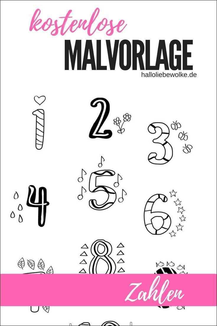 Malen Nach Zahlen 1-10 Inspirierend Malvorlage Zahlen 1 10 Bild – Ausmalbilder Ideen Bilder