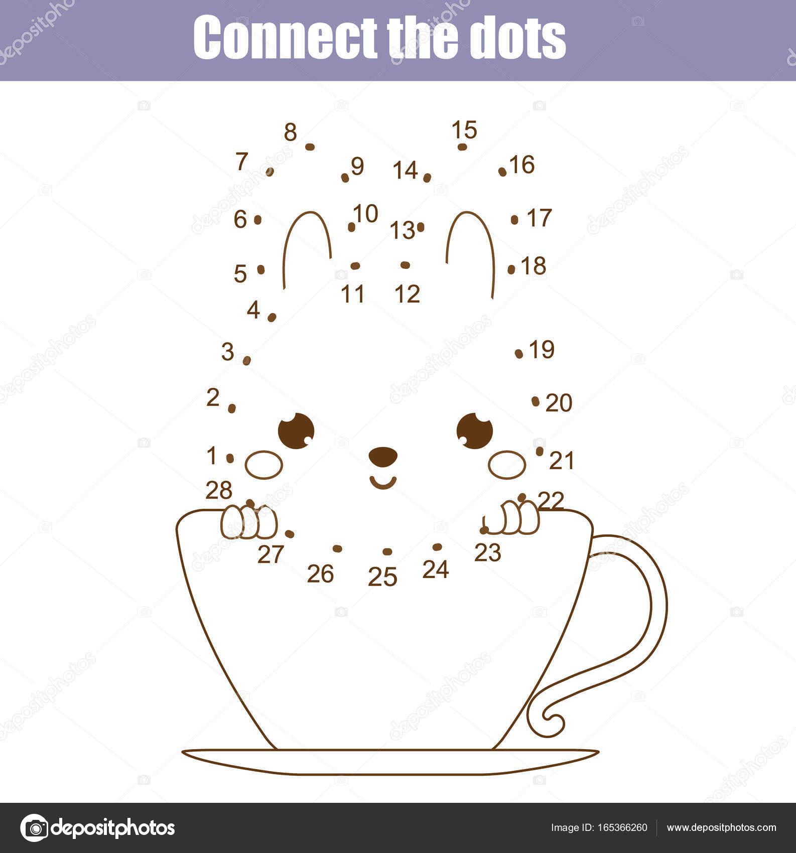 Malen Nach Zahlen Kostenlos Punkte Verbinden Einzigartig Verbinde Die Punkte Von Zahlen Kinder Lernspiel Druckbare Bestimmt Bild