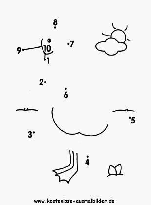 Malen Nach Zahlen Kostenlos Punkte Verbinden Frisch Malen Nach Zahlen Zum Ausdrucken 1 20 Idee Malvorlagen Punkte Fotos