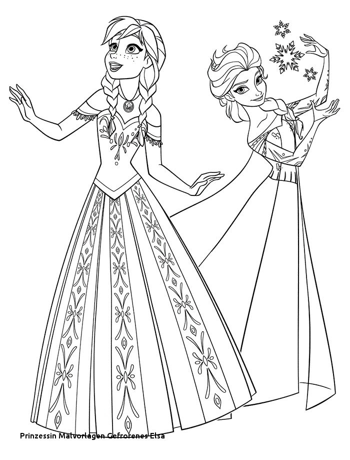 Malvorlage Anna Und Elsa Inspirierend 24 Prinzessin Malvorlagen Gefrorenes Elsa Perfect Colorgefrorene Sammlung