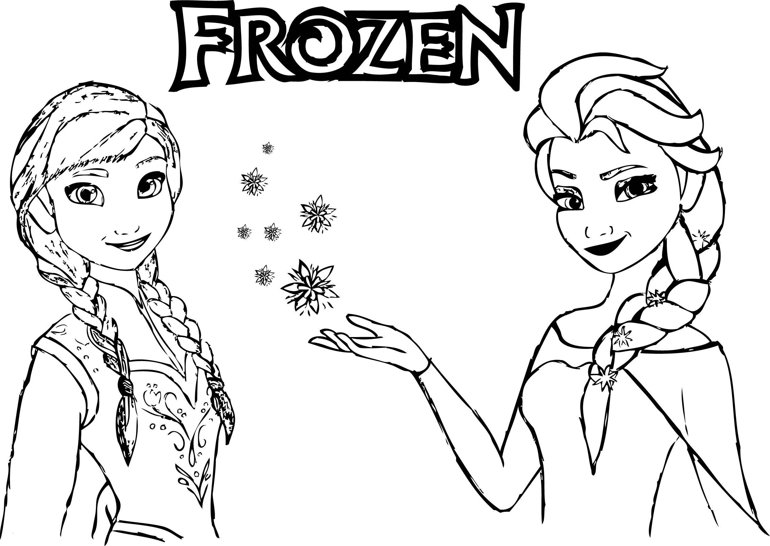 Malvorlage Anna Und Elsa Inspirierend Frozen Ausmalbilder Elsa Und Anna Schön 32 Frozen Ausmalbilder Elsa Sammlung