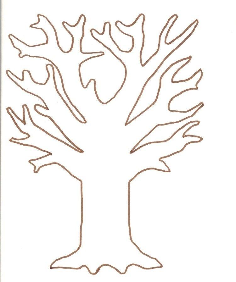 Malvorlage Baum Mit Wurzeln Inspirierend Vorlage Zum Ausdrucken Und Ausmalen Baum Schablonen Bild