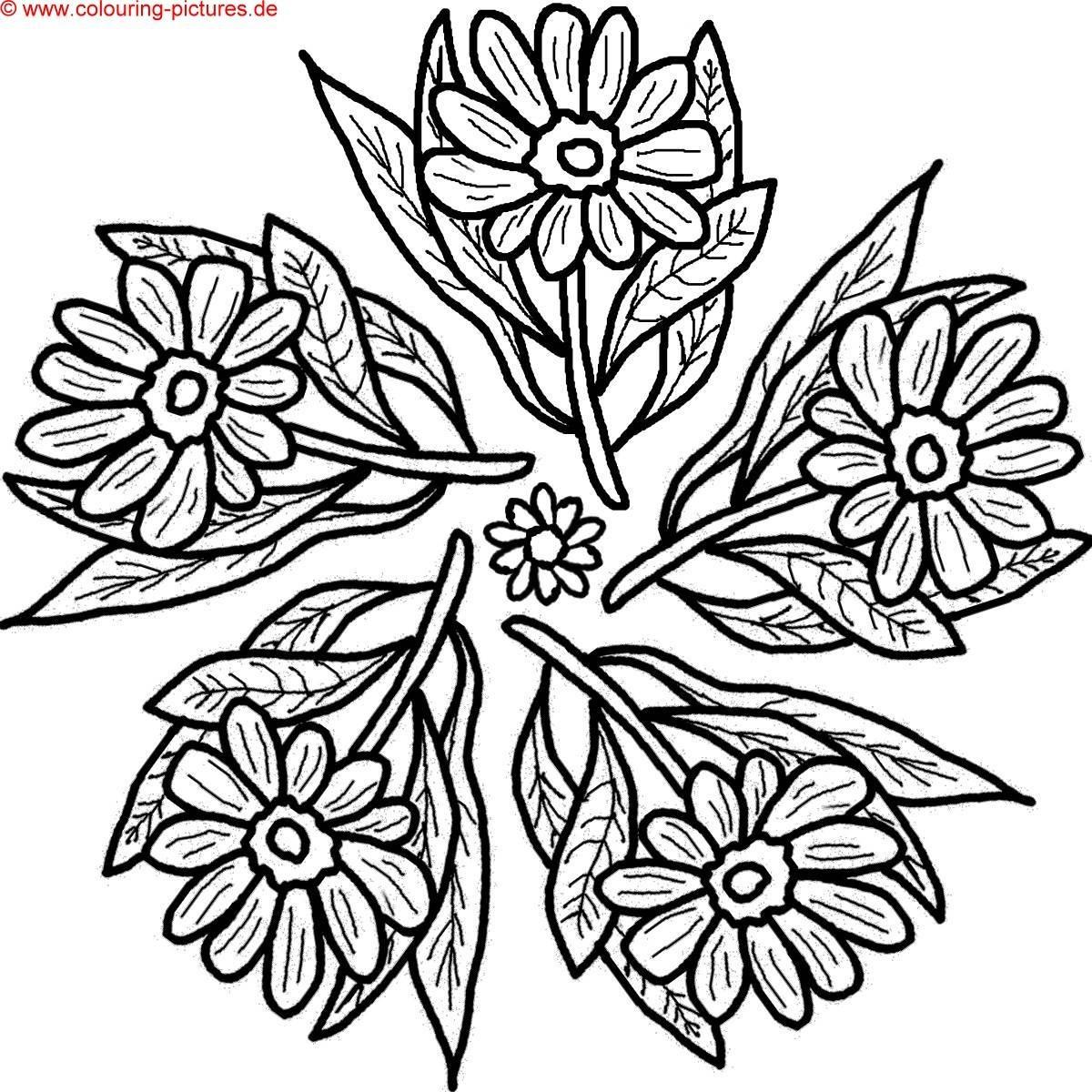 Malvorlage Blumen ornamente Das Beste Von Malvorlagen ornamente Kostenlos Genial Ausmalbilder Blumen Ranken Galerie