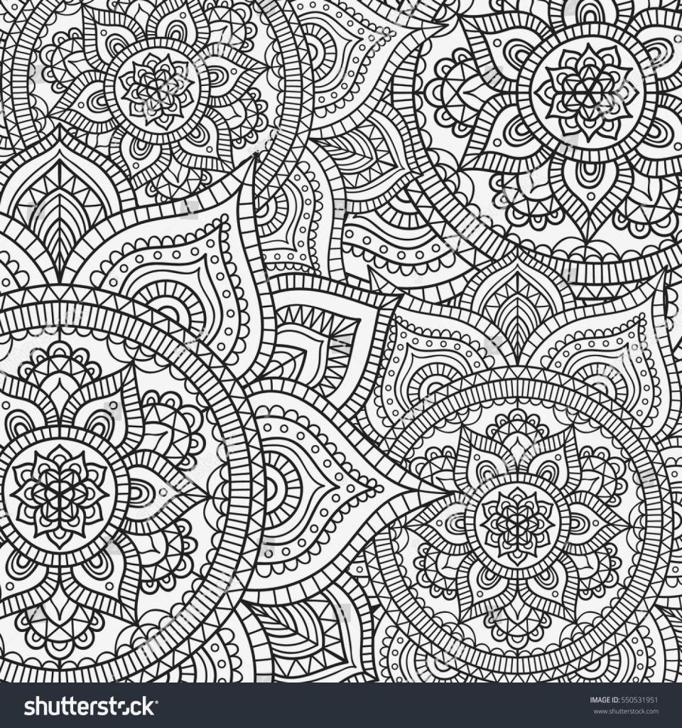 Malvorlage Blumen ornamente Einzigartig Coloring Page Sammlung