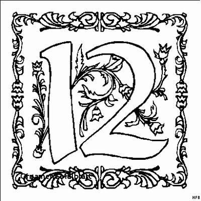 Malvorlage Blumen ornamente Einzigartig ornament Malblatt Malvorlagen Zahlen Frisch Zahl 7 Mit ornamenten Bilder