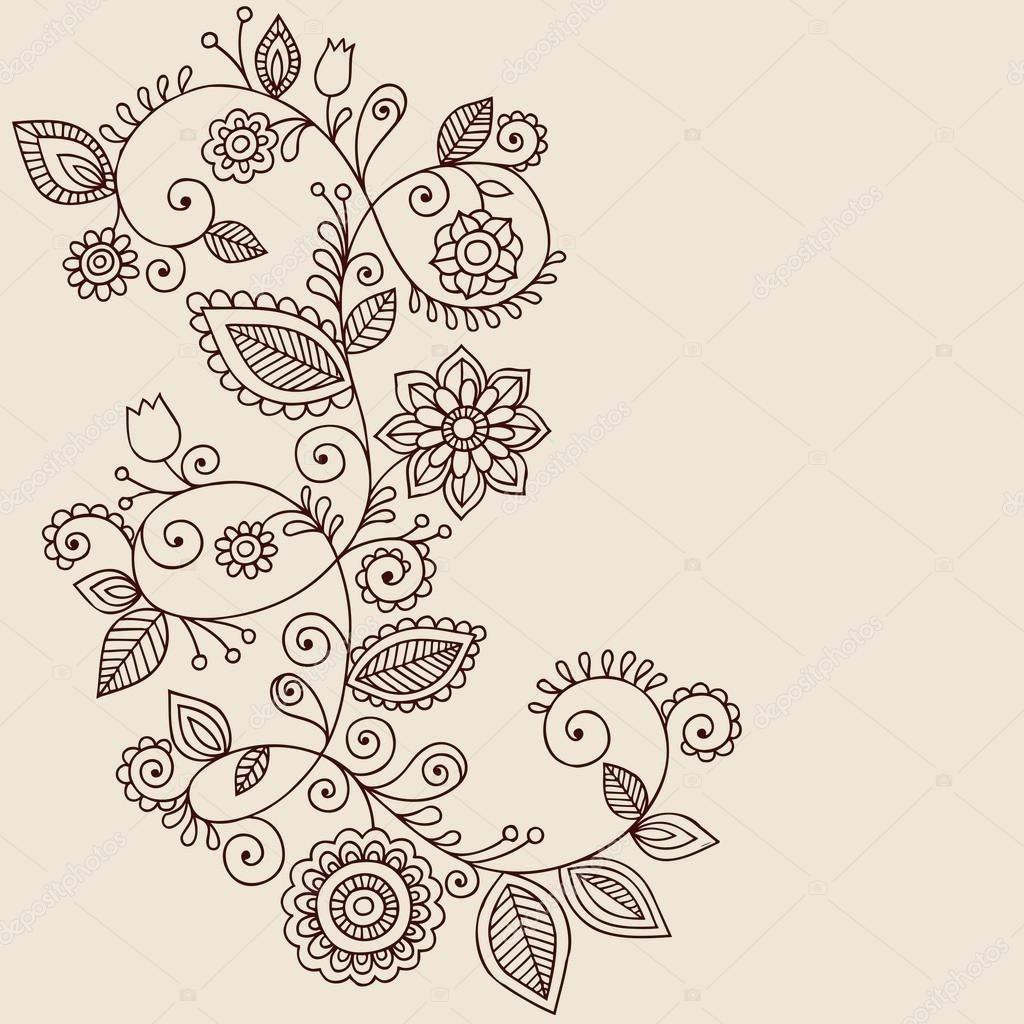 Malvorlage Blumen ornamente Frisch Bilder Zum Ausmalen Bekommen Mandala Malen Stock