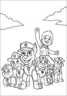 Malvorlage Paw Patrol Inspirierend Ausmalbilder Paw Patrol Zum Ausdrucken Malvorlagen Für Kinder Das Bild
