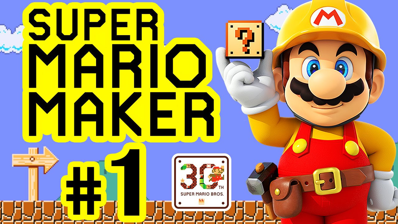 Malvorlage Super Mario Einzigartig Super Mario Maker 01 ¢Ëœ† 30th Super Mario Bros Anniversary [hd Luxus Bild