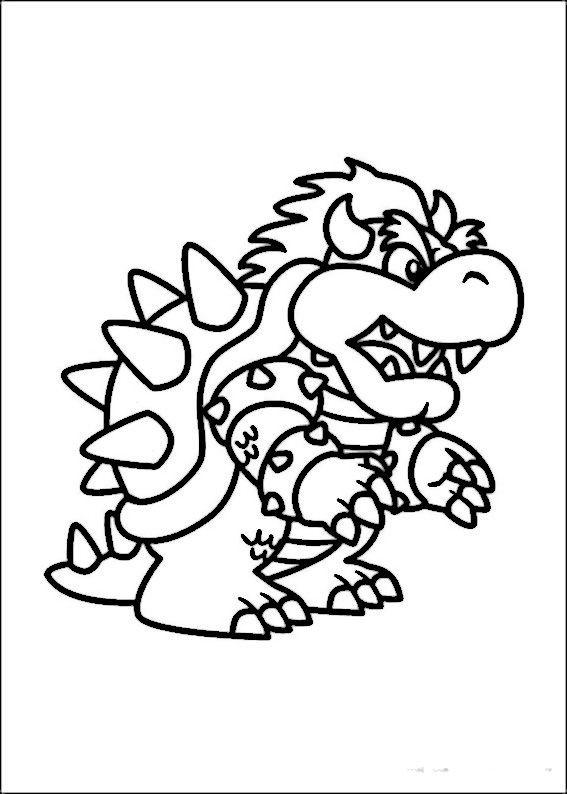 Malvorlage Super Mario Frisch Mario Bross Ausmalbilder Malvorlagen Zeichnung Druckbare Nº 5 Fotos