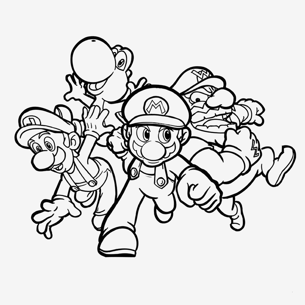 Malvorlage Super Mario Genial 28 Inspirierend Ausmalbild Super Mario – Malvorlagen Ideen Galerie