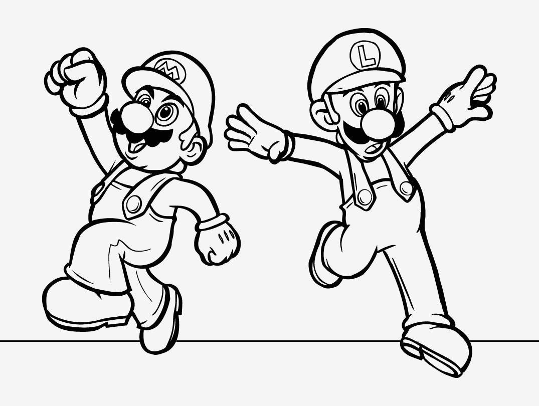 Malvorlage Super Mario Inspirierend Spannende Coloring Bilder Super Mario Malvorlagen Stock