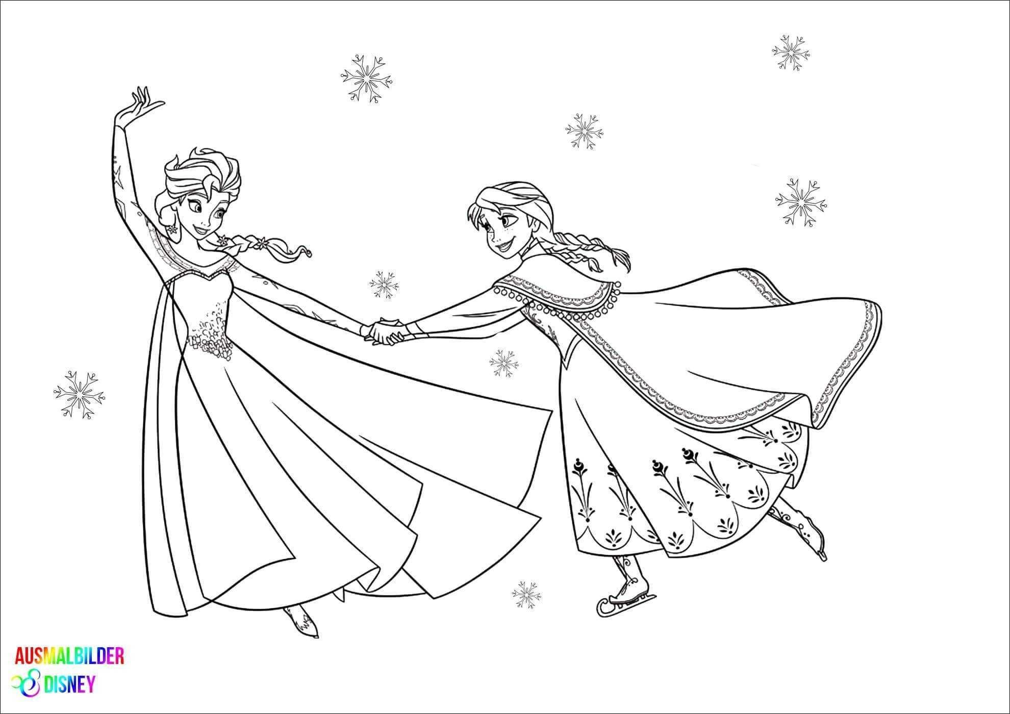 Malvorlagen Anna Und Elsa Frisch Elsa Anna Ausmalbild Bild 40 Frozen Elsa Malvorlagen Scoredatscore Galerie