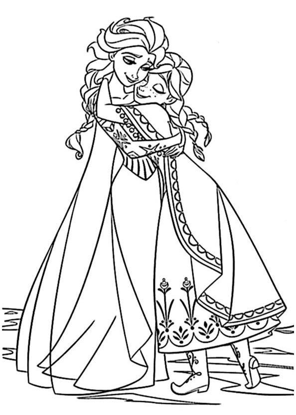 Malvorlagen Anna Und Elsa Inspirierend 10 Best 315 Kostenlos Anna Und Elsa Und Olaf Ausmalbilder Zum Ausdrucken Fotos