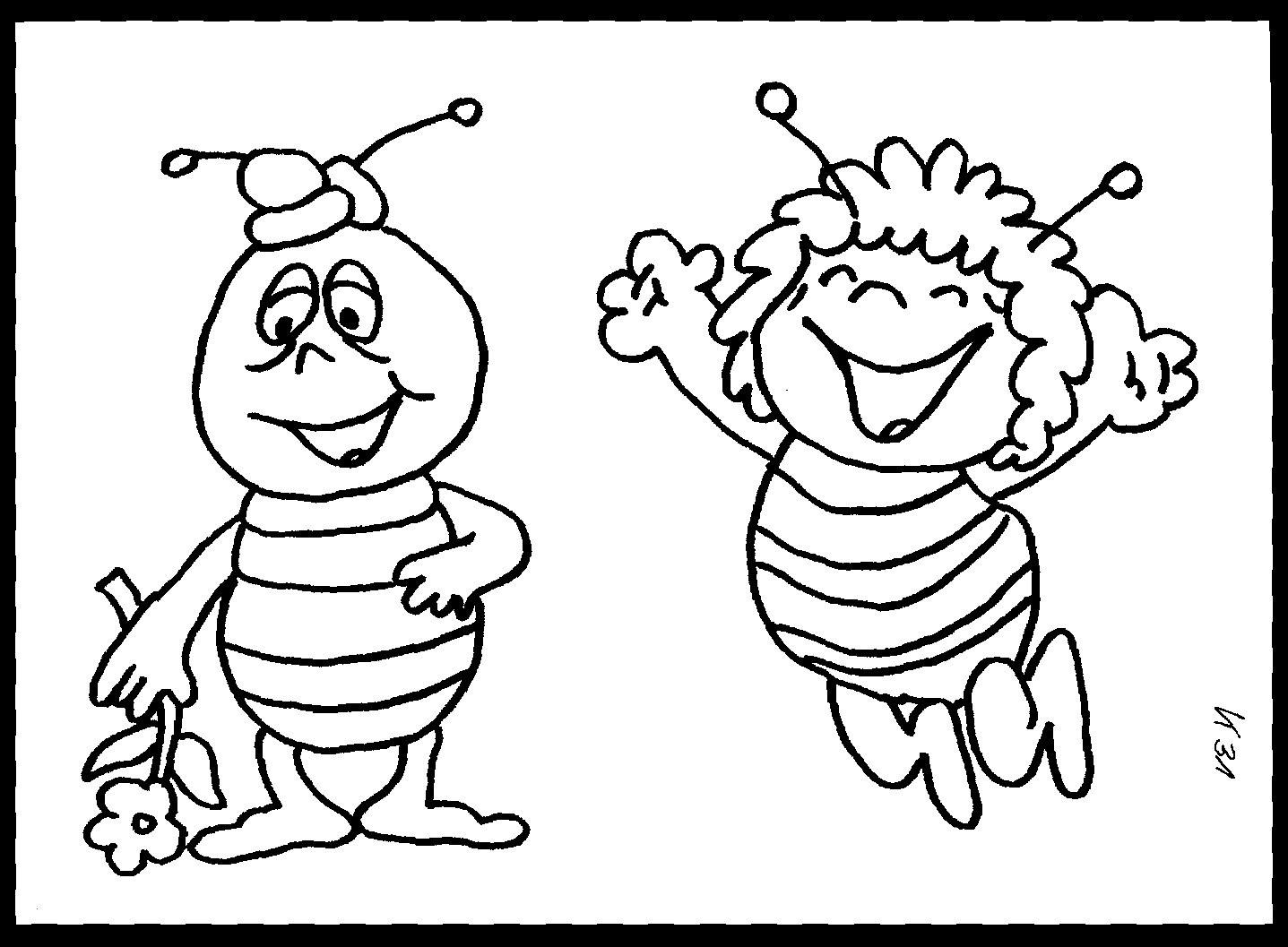 Malvorlagen Biene Maja Frisch Biene Maja Ausmalbild & Malvorlage sonstiges Schön Malvorlagen Biene Galerie