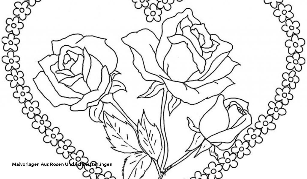 Malvorlagen Blumen Ranken Kostenlos Einzigartig Malvorlagen Aus Rosen Und Schmetterlingen Ausmalbilder Blumen Das Bild