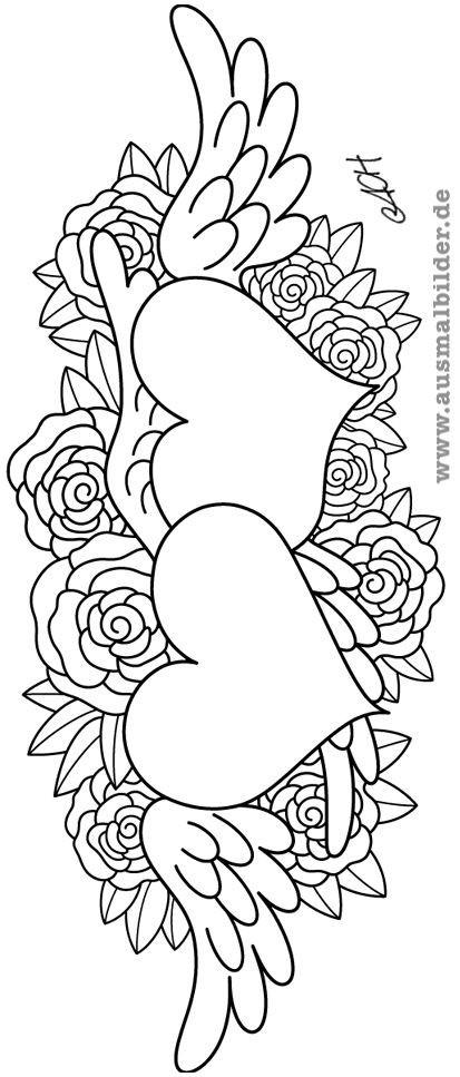 Malvorlagen Blumen Rosen Frisch Ausmalbilder Blumen Ausmalbilder Rosen Mit Herz Ausmalbilder Pinterest Bilder