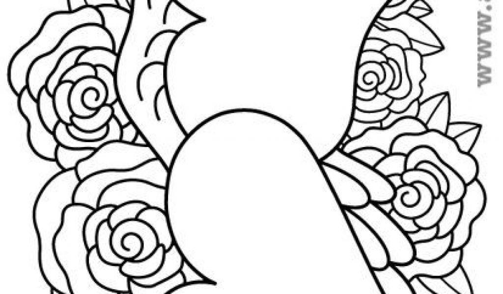 Malvorlagen Blumen Rosen Genial Ausmalbilder Blumen Ausmalbilder Rosen Mit Herz Ausmalbilder Pinterest Stock