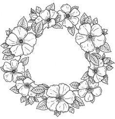 Malvorlagen Blumen Rosen Genial Ausmalbilder Blumen Ranken 01 Zeichnen Pinterest Fotos