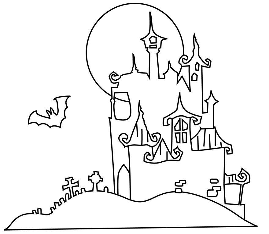 Malvorlagen Halloween Geist Frisch Halloween Bilder Zum Ausdrucken