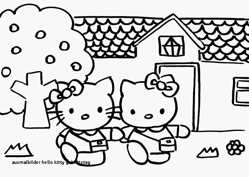 Malvorlagen Hello Kitty Einzigartig 27 Ausmalbilder Hello Kitty Geburtstag Colorprint Stock