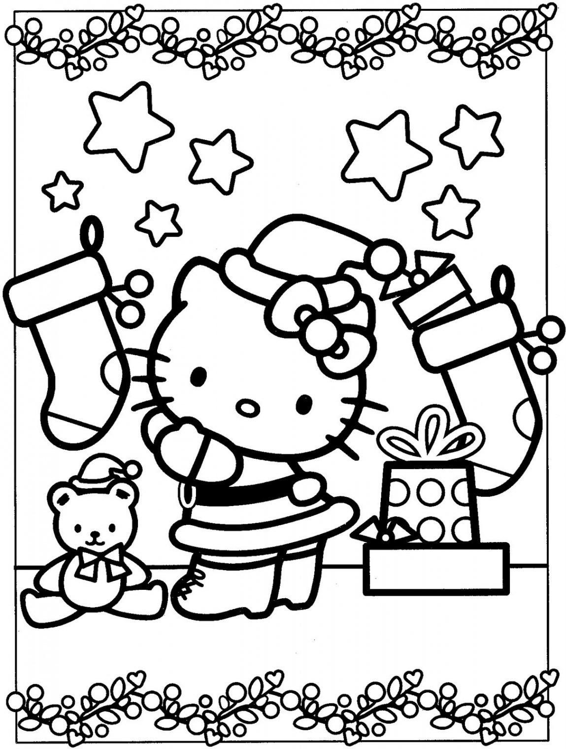 Malvorlagen Hello Kitty Einzigartig Ausmalbilder Hello Kitty Weihnachten Best Ausmalbild Elfe Galerie