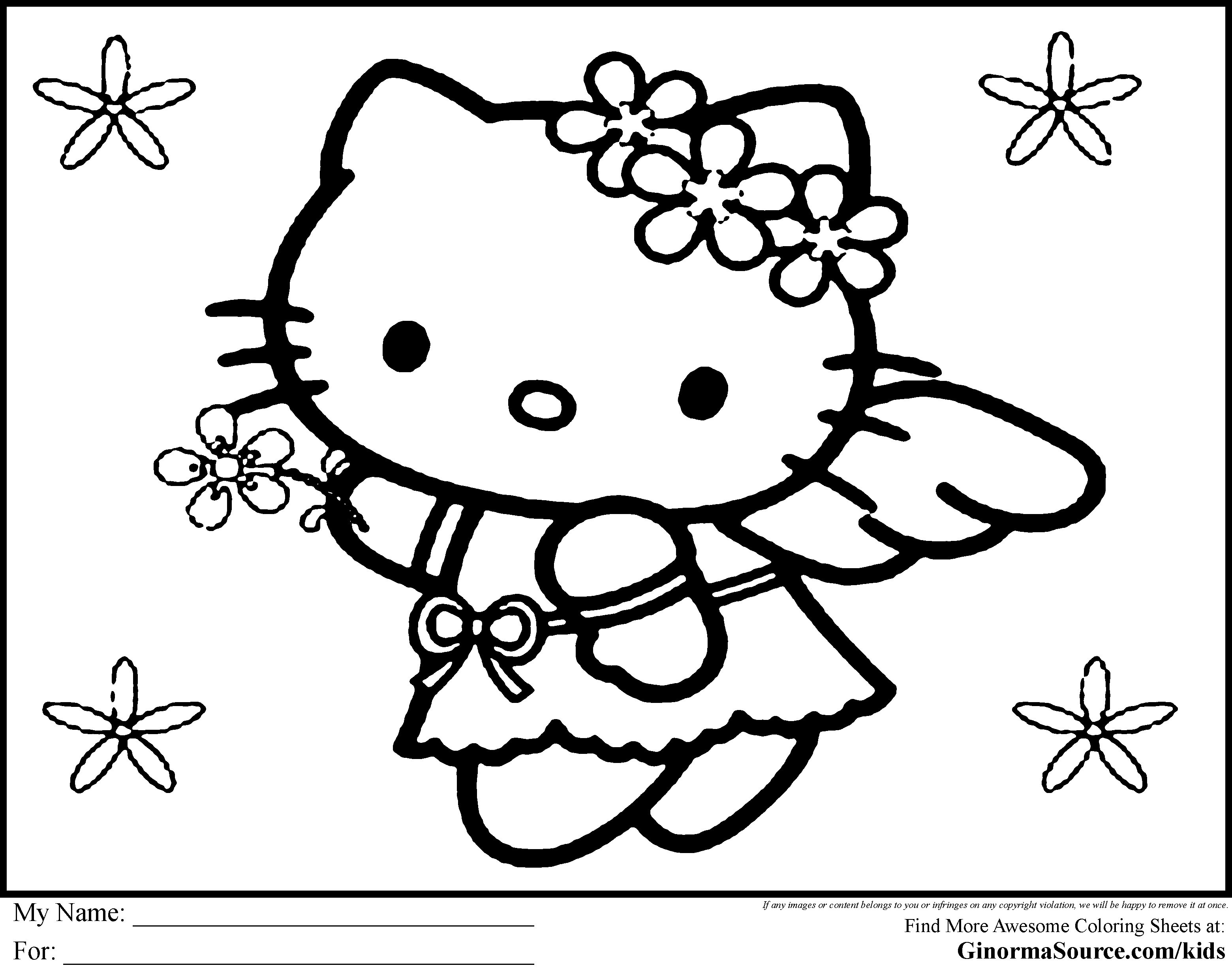 Hello Kids Coloring Pages Elegant Erfreut Ideen Framing Malvorlagen