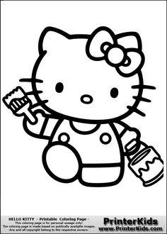 Malvorlagen Hello Kitty Genial 32 Besten Bildvorlagen Hello Kitty Bilder Auf Pinterest Fotos