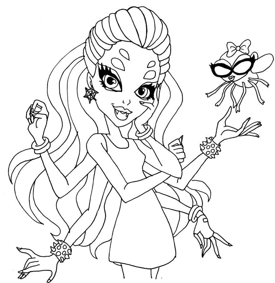Malvorlagen Monster High Inspirierend Monster High Coloring Pages Wydowna Spider Google Search Frisch Galerie