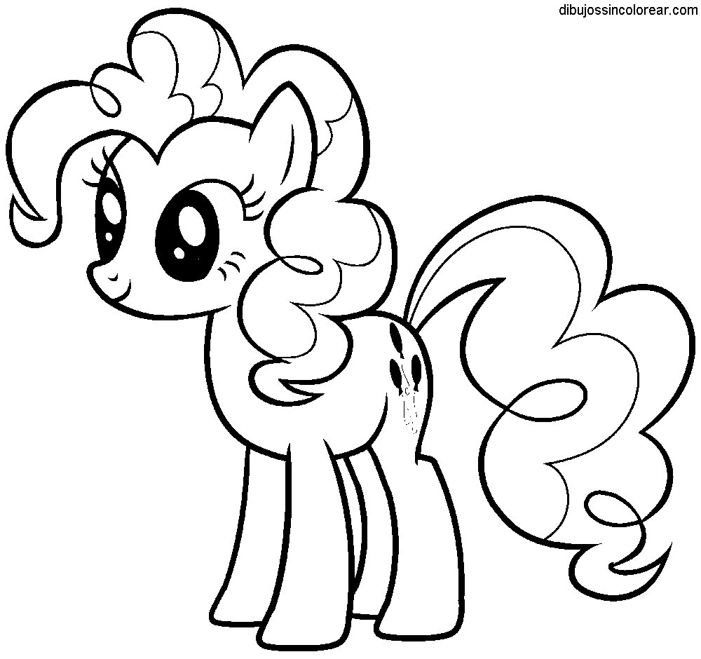 Malvorlagen My Little Pony Inspirierend Dibujos Sin Colorear Dibujos De My Little Pony Para Colorear Luxus Fotos